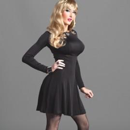 Black Flair Dress