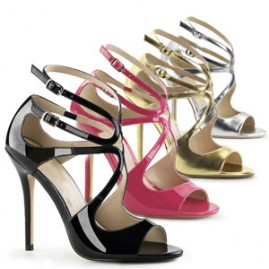 Modern Strappy Crossdress heel
