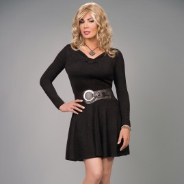 Feminine Swing Dress