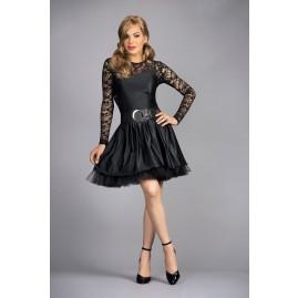 crossdressing petticoat dress