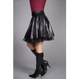 Side View Transgender  Swing Skirt