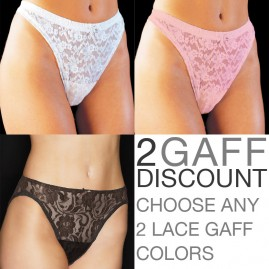 Lace - Satin Lined 2 Gaff Discount Kit