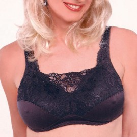 Bra with Built-in Front Camisole - Holds Breats Forms