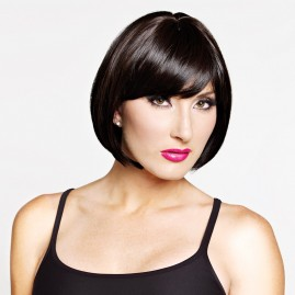 Drag and trangender wig style - short and passable Color Black