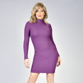 Hot Purple Crossdress Dress Thumbnail