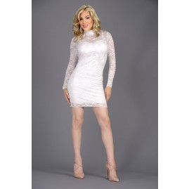 The Essential Lace Dress - White